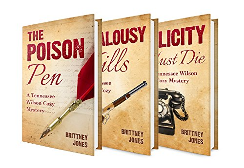 Boxed Set: A 3 in 1 Tennessee Wilson Cozy Mystery Series: Book 1 : Poison Pen + Book 2: Jealousy Kills + Book 3: Felicity Must Die (English Edition) (Tennessee Womens Shorts)