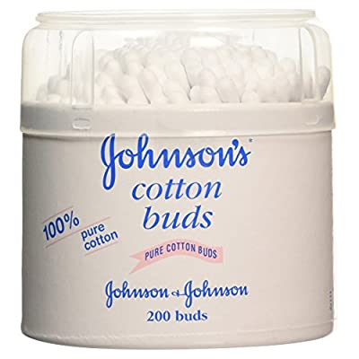 Johnson's Pure Cotton Buds, 200 Buds