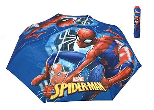 Marvel Spider-Man Kinder Taschen-Regenschirm