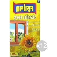 SPIRA Set 12 attira mosche Sol X2Repellent insec ticide