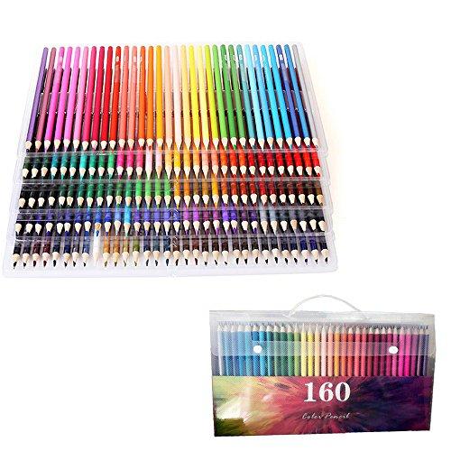 WCOCOW Farbstifte Buntstifte Set 120/160 Art von Farben Farbstifte Set Malstifte Set Kunst Stifte...