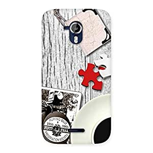 Premium Vintage Multicolor Style Back Case Cover for Micromax Canvas Magnus A117