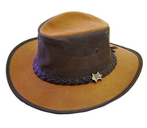 modestone-crushable-bc-hat-australian-leather-mesh-drover-sombrero-vaquero-brown