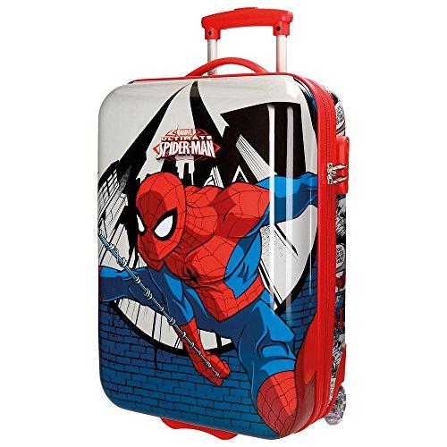 9a3b4709f 2161761 Maleta trolley rigida ABS equipaje de mano SPIDERMAN 55 x 33 x 20 cm  · Spiderman Comic Equipaje Infantil, 55 cm, 34 Litros, Multicolor
