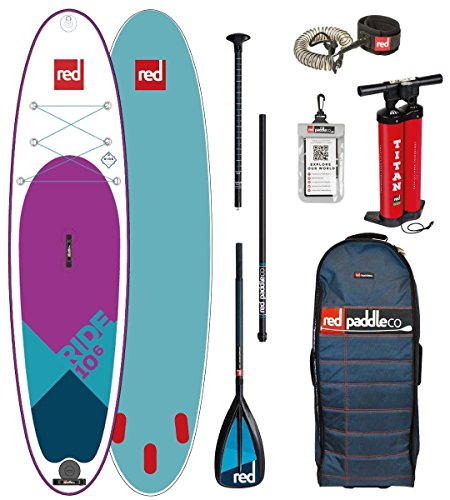 Red Paddle Co 10.6' RIDE Spezial Edition Set Package Stand Up Paddle Sup Board aufblasbar Paddel Pumpe Leash