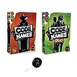 Lot de 2 Jeux Code Names Iello: CodeNames + CodeNames Duo + 1 Yoyo Blumie.