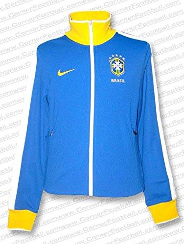 Nike - Brasil Chaqueta AZ WC2010 Hombre Color: Azul Royal Talla: 2XL