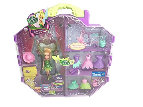 Disney Fairies Walmart Exclusive Tink's Ultimate Pixie Closet by JAAKS Pacific