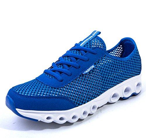 Men's Mesh Breathable Light Running Shoes blue