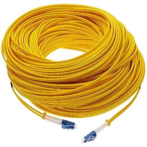 cablematic. FR–Cavo di fibra ottica LC/PC per LC/PC monomodale 9/125duplex