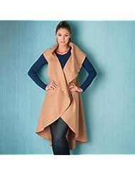 Brave Soul - Abrigo - para mujer, Mujer, color marrón claro, tamaño