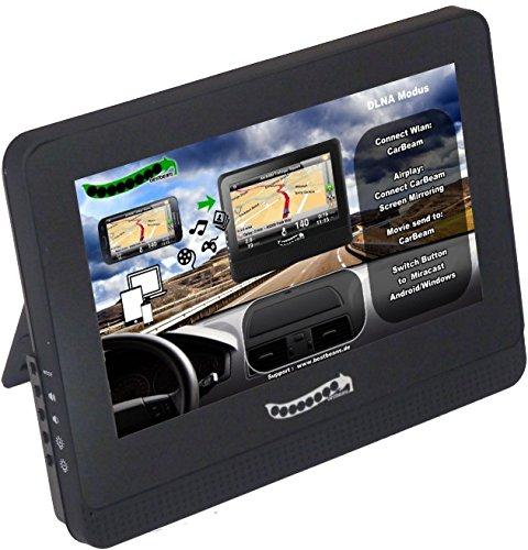 bestbeans carbeam Media Streaming de pantalla duplicación de navegación películas, vídeos,, fotos, etc. a través de DLNA, Airplay, Miracast; iOS, Android, iPhone, Samsung, etc.