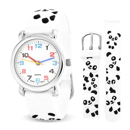Bling Jewelry SRD-AB2681 - Reloj , correa de goma color blanco