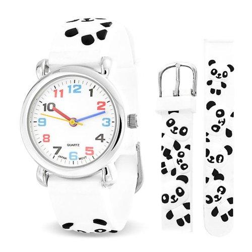 Bling Jewelry SRD-AB2681 - Reloj , correa de goma color blanco