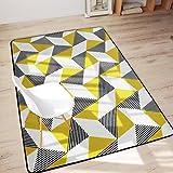 SESO UK Nordic Geometric Carpet weichen bequemen rutschfesten großen Teppich für Schlafzimmer Nacht Wohnzimmer Dekoration Dicke-6mm (größe : 160X230cm)