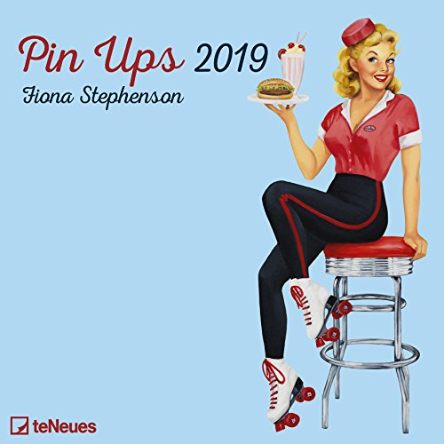2019 Pin Ups Calendar - 30 x 30 cm par teNeues Calendars & Stationery