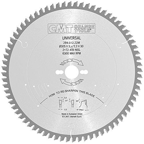 CMT Orange Tools 294.072.22M - Sierra circular 305x3.2x30