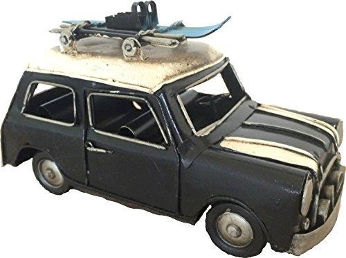 Targa in auto England Nostalgic Art modello auto modello in metallo Nostalgia 16x 8x 9cm cm metallo retro Shabby Vintage Nostalgic-Art
