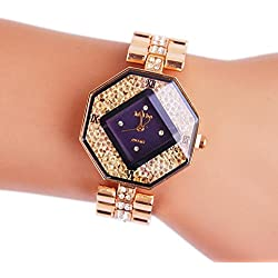 WINWINTOM Women Alloy Pointer Quartz Wrist Watch