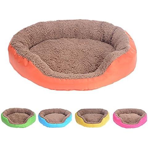 Finerolls Cama para mascota perro Casa de mascotas cómoda y suave Sofa Cojín Cama para perros Gato para descansar dormir jugar