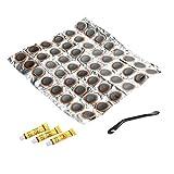 Motor Fahrrad Reifen Reifen-Fahrradschlauch pannensicher Rubber Patches Repair Kit, nicht selbstklebend wetrys, Set A