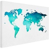 Suchergebnis auf f r weltkarte leinwand malen - Weltkarte basteln ...