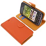 Tasche für Doro Liberto 820 Book Style orange Schutz