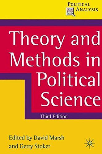 Theory and Methods in Political Science (Political Analysis) por David Marsh