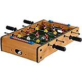 Mini Tischfußball, Maße: 51x31x8 cm, 3 Dekorvarianten, Gewicht: 2,6 kg, 4 Spielstangen, inkl. 2 Bälle