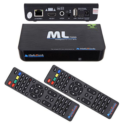Medialink Smart Home ML 7000 IPTV Box Receiver HDMI USB Full HD inkl. HDMI Kabel