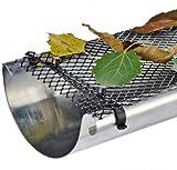 Bid Buy Direct® tejado canalón rejilla de protección–6M x 17,5cm Flexible de plástico rejilla con 16clips de fijación | mantiene tejado canalón limpio y previene la obstrucción de hojas y de otros suciedad | resistente al agua | resistente | fácil de montar–se puede cortar a cualquier tamaño.