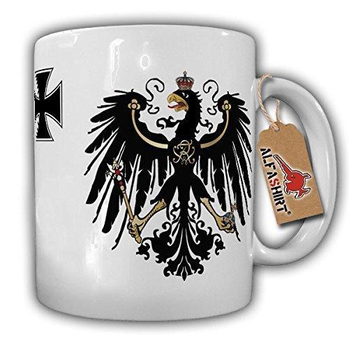 Preußen Adler Eisernes Kreuz - Tasse Becher Kaffee #2233 Adler-kaffee-tasse