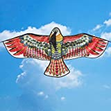 Eagle Kite - New Toys 1.1m Huge Eagle Kite Novelty Toy Kites Eagles Large Flying For Children's Best Gift - Colorful
