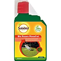 solabiol 79997736bio Césped musgo libre herbicida, incoloro, 500ml