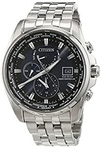 Citizen Herren-Armbanduhr Analog Quarz Edelstahl AT9030-55L: Citizen