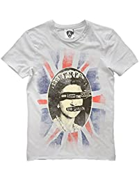 Amplified Clothing Womens Sex Pistols Queen T Shirt White S