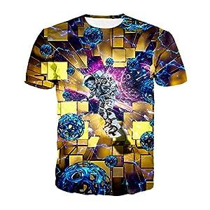 ZzSTX Lustige T-Shirt Sommer Männer Frauen Plus Size Sportwear T-Shirt