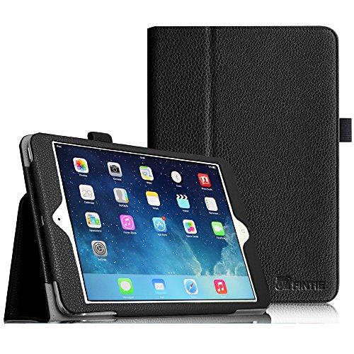 Tablet Case Für Ipad Mini (Fintie Apple iPad mini 1 / 2 / 3 Hülle - Slim Fit Foilo Kunstleder Schutzhülle Tasche Etui Case Cover mit Auto Schlaf / Wach, Standfunktion für iPad mini 3 / 2 / 1 , Schwarz)