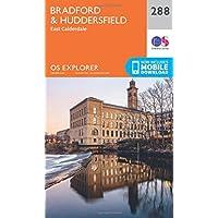 OS Explorer Map (288) Bradford and Huddersfield (OS Explorer Paper Map) (OS Explorer Active Map)