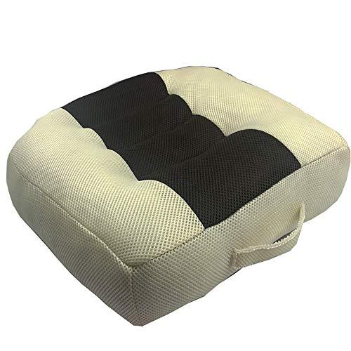 H.aetn Cushion Booster Seat Auto, Tragbare Auto Fahrer Komfort Sitzpolster Erhöhung Höhe Universal Sitzmatte für Home Office Reise Rollstuhl Druck Schmerzlinderung -