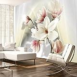 murando - Fototapete Blumen 400x280 cm - Vlies Tapete - Moderne Wanddeko - Design Tapete - Wandtapete - Wand Dekoration - Blumen b-A-0201-a-d