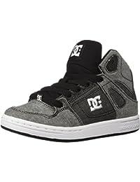 DC Kids' Pure High-Top TX SE Skate Shoe