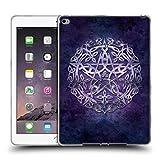 Offizielle Brigid Ashwood Silber Pentagramm Heiliges Symbol Soft Gel Hülle für Apple iPad Air 2