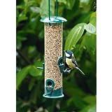 Land-Haus-Shop® Vogelfutter Station, Vogel Futter Haus Station, Kunststoff, Deckel aufschraubbar