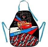 alles-meine GmbH Kinderschürze -  Disney Cars / Lightning McQueen - Auto  - inkl. Name - mitw..