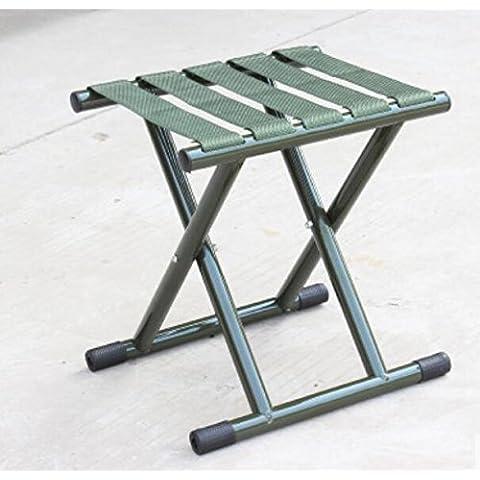 ZZP Casa al aire libre adultos taburete portable plegable asientos de Mazar/tren militares de espesamiento/Banco/taburete de pesca
