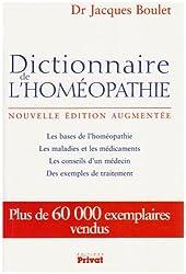 Dictionnaire de l'homéopathie