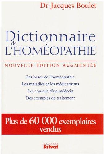 Télécharger Dictionnaire de l'homéopathie PDF Fichier