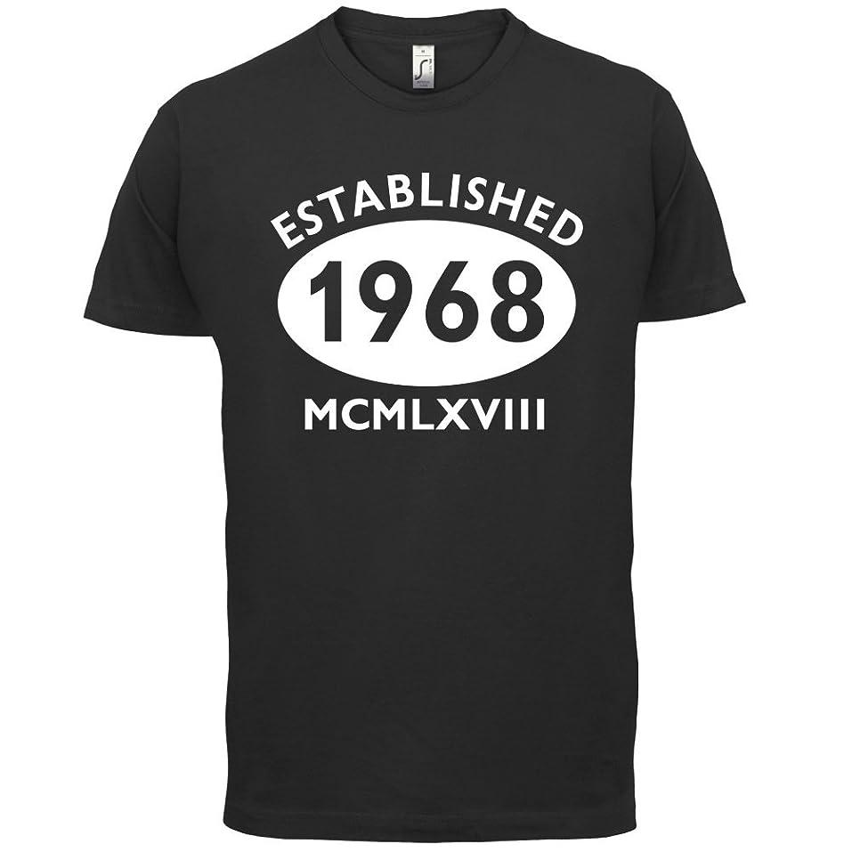 Shoppen Sie Gegründet 1968 Römische Ziffern - 49 Geburtstag - Herren T-Shirt  - 13 Farben auf Amazon.de:T-Shirts