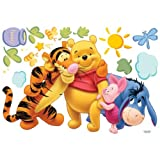 Winnie the Pooh & Friends – Kinder Wandaufkleber Home Kunst Deko Wandtattoo - 3